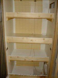 Fertiger Umbau eines Schrankes (Ombo von Ikea)
