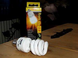 Kalte Vollspektrumlampe