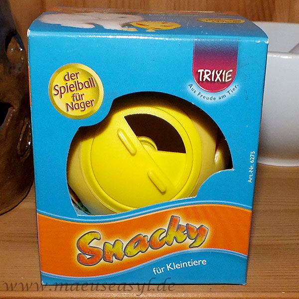 Snackball für Mäuse
