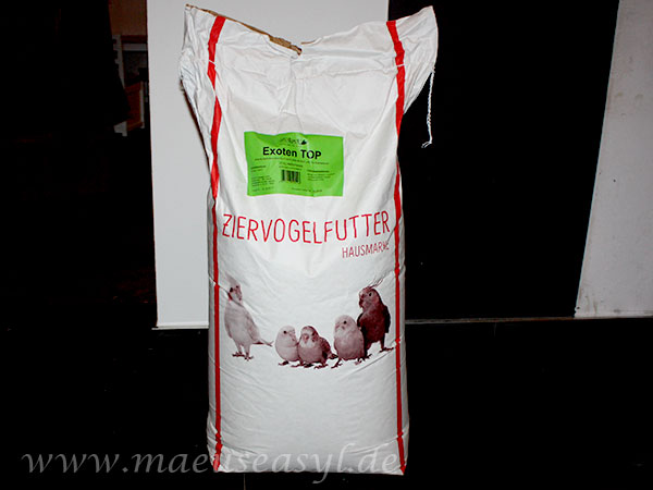 Futtersack Rudloff Exoten Top