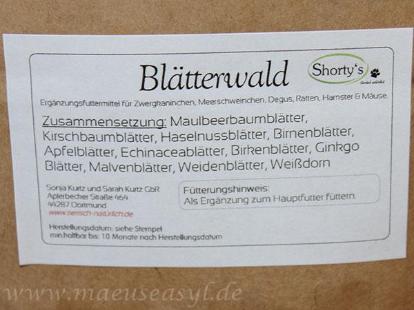 Shorty's Blätterwald