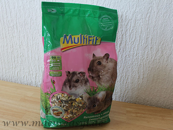 Multifit Mäusefutter