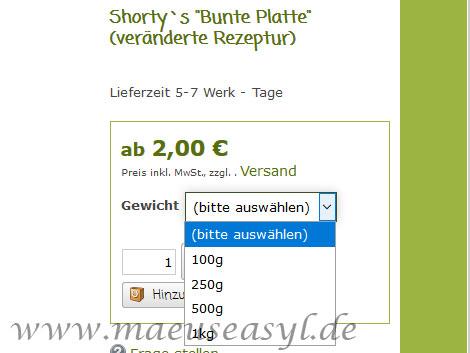 Shorty's Bunte Platte im Test