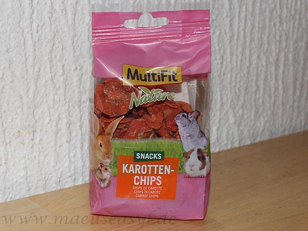 MultiFit Karottenchips Verpackung