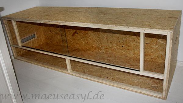 Klassisches OSB-Terrarium 200x60x60cm