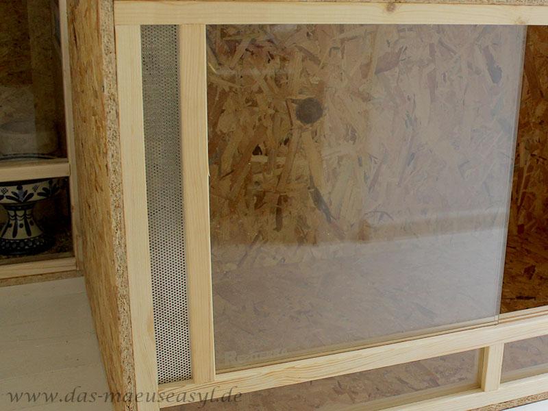 OSB-Terrarium von Reptiterra: Lüftung