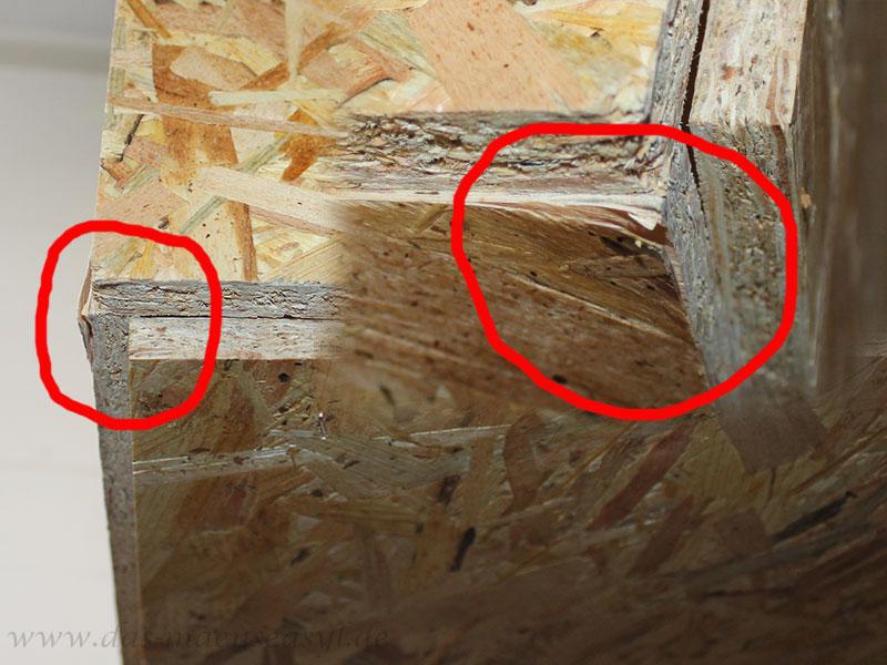 OSB-Terrarium von Reptiterra: Schlechtes Material