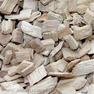 Einstreu: Buchenholzgranulat